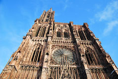 The Cathedral of Strasbourg Stock Photos