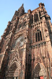 Cathedral in Strasbourg Stock Image