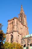 Cathedral in Strasbourg Stock Images
