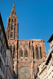 Cathedral of Strasbourg Royalty Free Stock Images