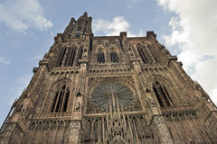 Cathedral in Strasbourg Royalty Free Stock Photo