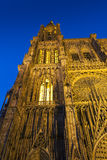 Cathedral of Strasbourg Stock Photo