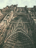 Cathedral of Strasbourg Stock Photos