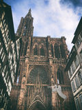 Cathedral of Strasbourg Stock Image