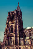 Cathedral in Strasbourg, France Stock Images