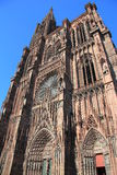 Cathedral of Strasbourg Royalty Free Stock Photo