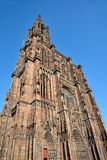 Cathedral of Strasbourg Stock Images