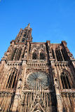 The Cathedral of Strasbourg town Stock Photography