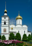 Cathedral of Sts. Boris and Gleb, Dmitrov town, Russia Stock Photos