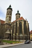 Cathedral of Sts Peter and Paul Dom in Naumburg Stock Photos