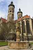 Cathedral of Sts Peter and Paul Dom in Naumburg Stock Image