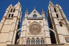 Cathedral in the sun Stock Images