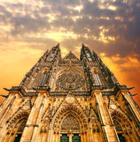 Cathedral on Sunset Royalty Free Stock Image