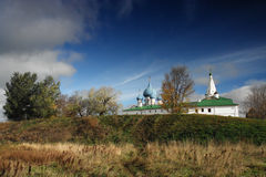 Cathedral of Suzdal citadel Stock Image