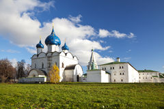 The Cathedral of the Suzdal Kremlin. Russia Stock Photos