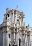 Cathedral of syracuse, italy Royalty Free Stock Photo