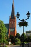 Cathedral in Szczecin Stock Photo