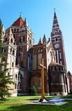 Cathedral of Szeged Stock Photo