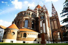 Cathedral of Szeged Stock Images