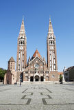 The Cathedral of Szeged,Hungary. Historic building Royalty Free Stock Photography