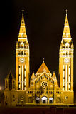 Cathedral of Szeged, Hungary Royalty Free Stock Image