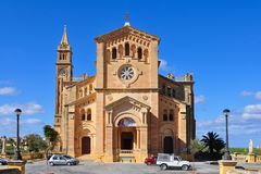 Cathedral Ta Pinu,island Gozo,Malta Royalty Free Stock Photography