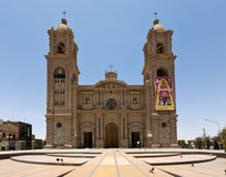 Cathedral of Tacna, Perú Stock Images