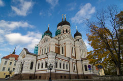 Cathedral in the Tallinn Royalty Free Stock Photo