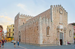 The Cathedral of Taormina Royalty Free Stock Photo