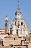 Cathedral of Tarazona (Spain) Stock Photo