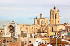 Cathedral of Tarragona, Catalonia, Spain Royalty Free Stock Photo