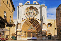 Cathedral of Tarragona, Spain Stock Photography