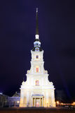 Cathedral temple - Saint-Petersburg Stock Photography