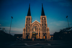 Cathedral of Thailand. Old Cathedral in Chanthaburi, Thailand Stock Image