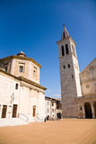 Cathedral and theater, Spoleto, Italy Royalty Free Stock Photography