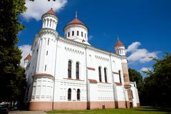The Cathedral of the Theotokos. In Vilnius, Russian Orthodox Church Stock Photography