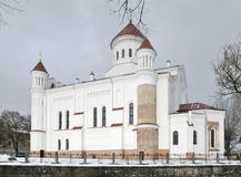 The Cathedral of  Theotokos in Vilnius Royalty Free Stock Image