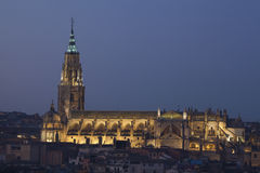 Cathedral of Toledo Royalty Free Stock Images
