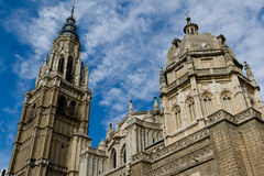 Cathedral of Toledo Royalty Free Stock Image