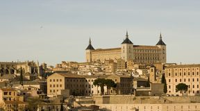 Cathedral in Toledo Stock Image