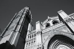 Cathedral in Toledo Royalty Free Stock Images