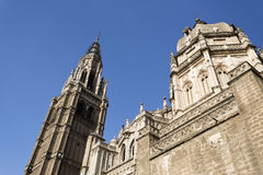 Cathedral of Toledo Royalty Free Stock Photography