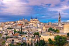 Cathedral of Toledo, Castilla La Mancha, Spain royalty free stock photos