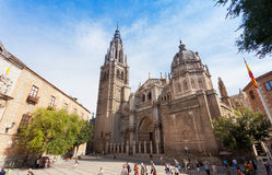A cathedral in Toledo. Royalty Free Stock Image