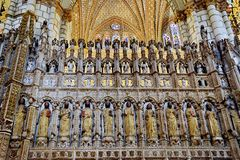 Cathedral of Toledo Stock Photography