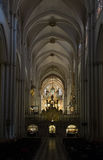 Cathedral of Toledo - interior Royalty Free Stock Photography