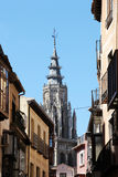 Cathedral of toledo, the main tower Royalty Free Stock Photos