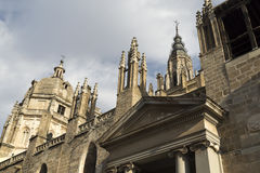 Cathedral of Toledo Stock Photos