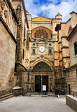 Entrance of the Cathedral of Toledo Royalty Free Stock Image