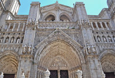 Toledo cathedral. Cathedral of Toledo in Spain Royalty Free Stock Image